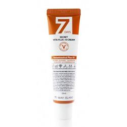 Витаминизированный крем для осветления и выравнивания тона кожи 7 Days Secret Vita Plus-10 Cream May Island