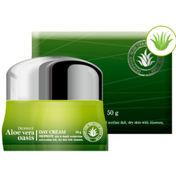 Дневной крем для лица с алоэ вера Aloe Vera Oasis Day Cream Deoproce