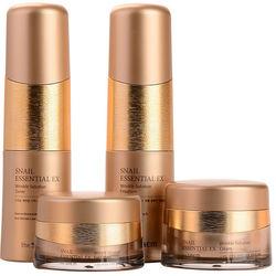 Набор антивозрастных средств премиум-класса с улиточным экстрактом Snail Essential Ex Wrinkle Solution Skin Care 3 Set The Saem