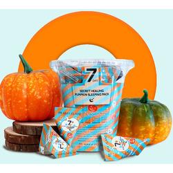 Успокаивающая ночная маска с экстрактом тыквы в пирамидках 7 Days Secret Healing Pumpkin Sleeping Pack May Island