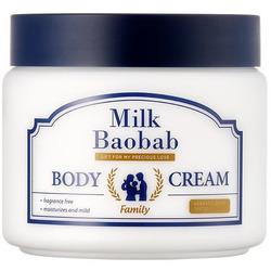 Глубоко увлажняющий крем для тела для всей семьи Family Body Cream Milk Baobab
