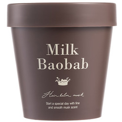 Восстанавливающая маска для поврежденных волос Hair Balm Mask Milk Baobab