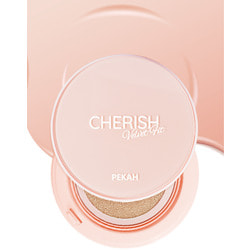 Кушон для лица светло бежевый тон 21 Cherish Velvet Fit Cushion PEKAH