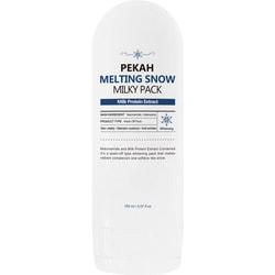 Маска для лица с молочными протеинами Melting Snow Milky Pack PEKAH