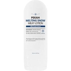 Крем-лосьон для улучшения цвета лица с молочными протеинами Melting Snow Milky Lotion PEKAH