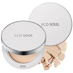 Пудра санскрин Eco Soul Uv Sun Pact The Saem