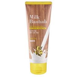 Маска для кончиков волос кремовая несмываемая Hair Moisture Cream Pack Milk Baobab