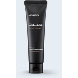 Органическая маска для сухих и поврежденных волос Quinoa Protein Treatment Mask Aromatica