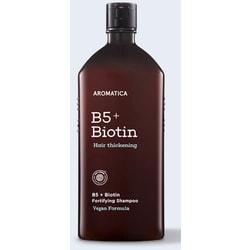 Бессульфатный укрепляющий шампунь с биотином B5 + Biotin Fortifying Shampoo Aromatica