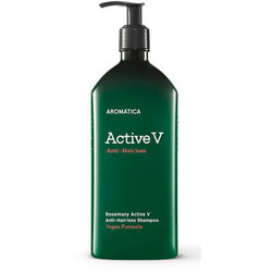 Шампунь против выпадения волос Rosemary Active V Anti-Hair Loss Shampoo Aromatica
