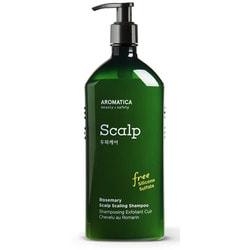 Бессульфатный укрепляющий шампунь с розмарином Rosemary Scalp Scaling Shampoo Aromatica