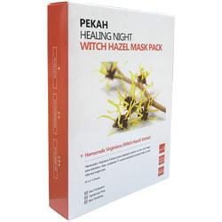 Вечерняя восстанавливающая маска с экстрактом гамамелиса Healing Night Witch Hazel Mask Pack Pekah