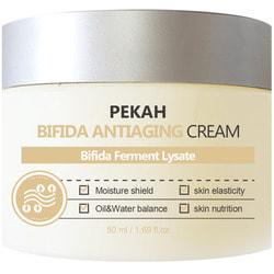 Антивозрастной крем для лица с комплексом бифидобактерий Bifida Antiaging Cream Pekah