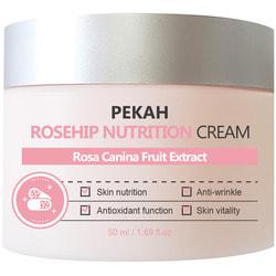 Питательный крем для лица с экстрактом шиповника Rosehip Nutrition Cream Pekah