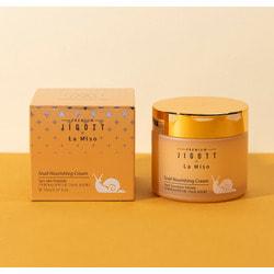 Питательный крем для лица с муцином улитки Premium Snail Nourishing Cream La Miso and Jigott
