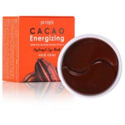 Тонизирующие гидрогелевые патчи для области вокруг глаз с экстрактом какао Cacao Energizing Hydrogel Eye Mask Petitfee