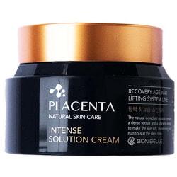 Омолаживающий крем для лица с плацентой Bonibelle Placenta Intense Solution Cream Enough