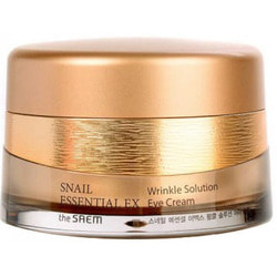Антивозрастной крем для глаз Snail Essential EX Wrinkle Solution Eye Cream The Saem