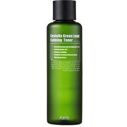 Бесспиртовый успокаивающий тонер с центеллой азиатской Centella Green Level Calming Toner Purito