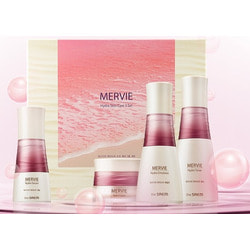 Набор для глубокого увлажнения кожи с экстрактом красного планктона Mervie Hydra Skin Care 3 Set The Saem