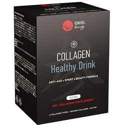 Коллаген в желе со вкусом грейпфрута Collagen Healthy Drink ENHEL