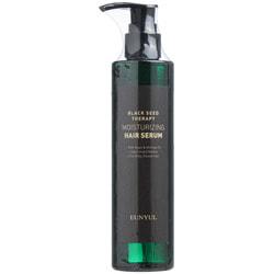 Увлажняющая несмываемая сыворотка для волос с маслом арганы и моринги Black Seed Therapy Moisturizing Hair Serum Eunyul
