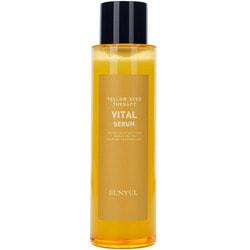 Витаминизирующий серум для сияния кожи лица с ниацинамидом и экстрактами цитрусовых Yellow Seed Therapy Vital Serum Eunyul