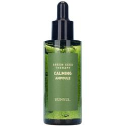 Ампульная успокаивающая сыворотка для лица с экстрактами зеленых плодов Green Seed Therapy Calming Ampoule Eunyul