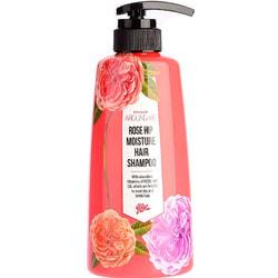 Шампунь для поврежденных волос с экстрактом шиповника Around Me Rose Hip Perfume Hair Shampoo Welcos