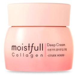 Крем для лица увлажняющий с коллагеном Moistfull Collagen Deep Cream Etude
