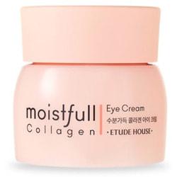 Крем для кожи вокруг глаз коллагеновый Moistfull Collagen Eye Cream Etude