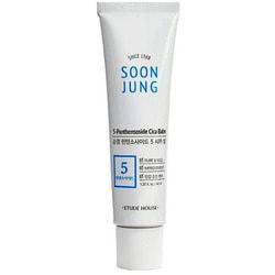 Защитный бальзам для чувствительной кожи Soon Jung 5-Panthensoside Cica Balm Etude
