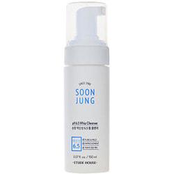 Пенка мусс для чувствительной кожи Soon Jung foam cleanser Etude