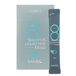 Восстанавливающая экспресс маска для объема волос в саше 8 Seconds Liquid Hair Mask Masil