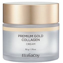 Антивозрастной крем для лица с коллагеном и золотом Premium Gold Collagen Cream Elishacoy