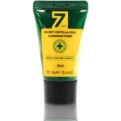 Очищающая пенка для проблемной кожи с экстрактом центеллы 7 Days Secret Centella Cica Cleansing Foam May Island