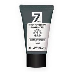 Очищающая пенка для лица с пептидами 7 Days Secret Peptide 8 Plus Cleansing Foam May Island