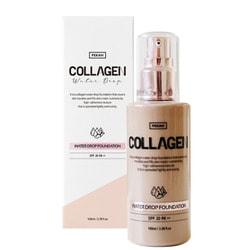 Увлажняющая тональная основа с коллагеном Collagen Water Drop Pekah