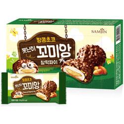 Шоколадное моти Komiang с ореховой начинкой Choco and Peanut Pie
