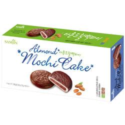 Моти в темном шоколаде с миндалем Almond Mochi Cake