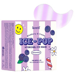 Тонизирующие патчи для глаз с черникой Koelf Ice-Pop Hydrogel Eye Mask