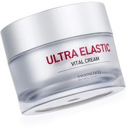 Омолаживающий крем с пептидным комплексом Ultra Elastic Vital Cream Swanicoco