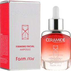 Укрепляющая ампульная сыворотка с керамидами Ceramide Firming Facial Ampoule FarmStay