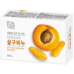 Туалетное мыло с маслом абрикоса Mukunghwa Rich Apricot Soap