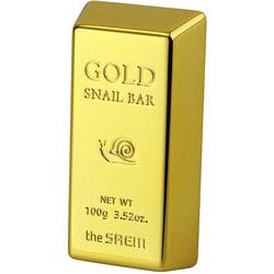 Мыло для умывания с экстрактом золота Gold Snail Bar The Saem