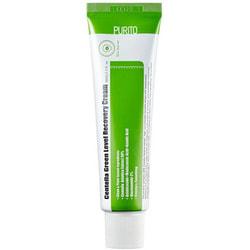 Успокаивающий крем для восстановления кожи лица с центеллой Centella Green Level Recovery Cream Purito