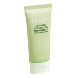 Антивозрастная восстанавливающая ночная маска для лица Anti-Aging Regenerating Sleeping Pack La Miso