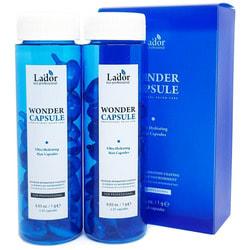 Суперувлажняющие капсулы для восстановления структуры волос Wonder Capsule Lador