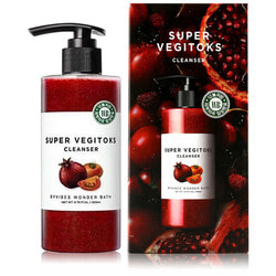 Осветляющий детокс гель Super Vegitoks Cleanser Red Wonder Bath