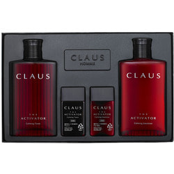 Набор косметический для мужчин Kwailnara Claus The Activator Calming Set 2 Welcos